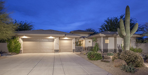Bellasera homes in the 85266 postal code of North Scottsdale AZ were built by Del Webb.