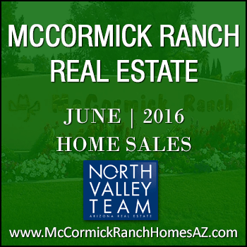 There was a total of 95 June 2016 McCormick Ranch homes sold.