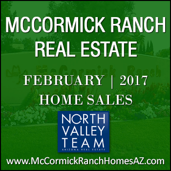 There were 82 February 2017 McCormick Ranch homes sold.