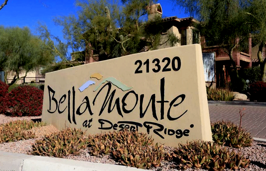 There are only two Bella Monte Desert Ridge condominium first floor units for sale.