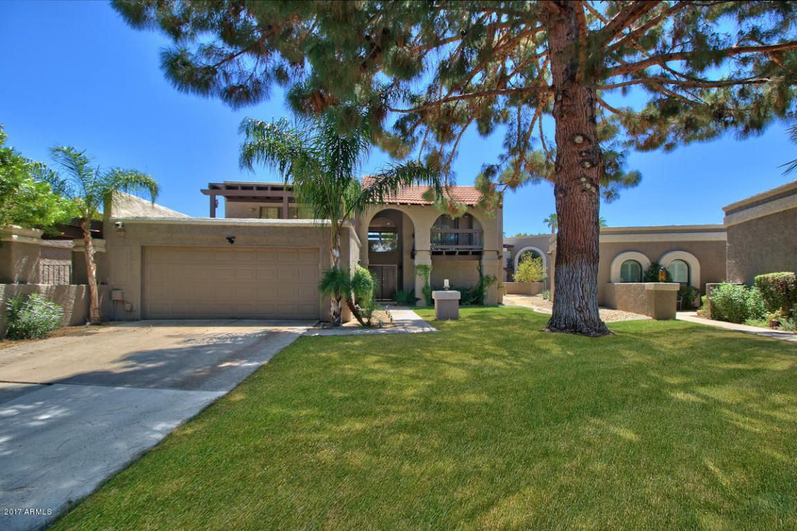 Pleasant Run McCormick Ranch homes in Scottsdale Arizona are very popular and close to the Old Town Scottsdale area.