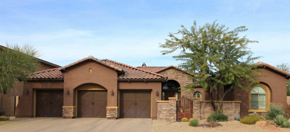 Aviano at Desert Ridge homes built by Toll Brothers are highly sought after Arizona real estate.