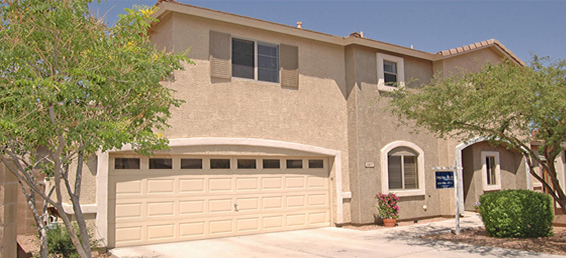 Fiesta Desert Ridge homes and the community was Developed by Trend Homes during the late 1990s.