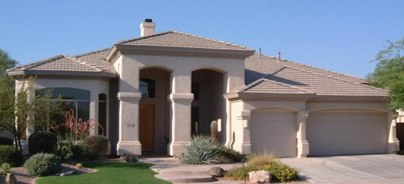 Stonecrest Desert Ridge homes back to the Wildfire Golf Club and offer many home owners golf course views.