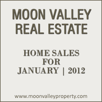 View details for Moon Valley home sales for the month of January 2012.