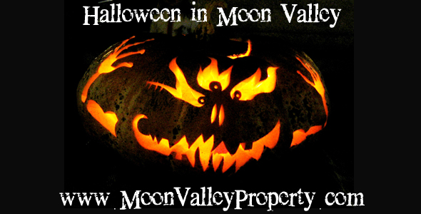 Come to the Moon Valley homes in this area for Halloween 2012.