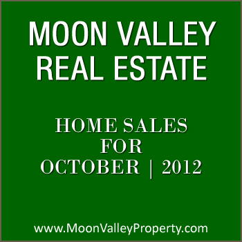 View homes sold in Moon Valley for the month of October 2012.