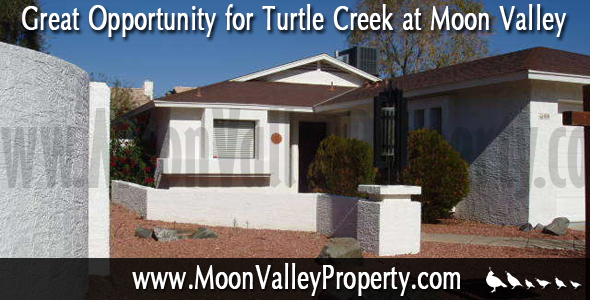 We would like to show you this 3 bedroom 2 bathroom Moon Valley home for sale located in Turtle Creek.