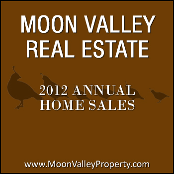 There were 354 Moon Valley home sales during the year of 2012.