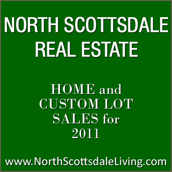 Track North Scottsdale home sales and custom lot sales closed during 2011.