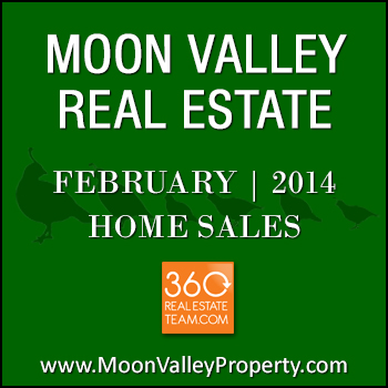 There were 29 Moon Valley homes for sale that closed in February 2014.