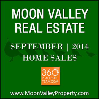 There were 36 homes in Moon Valley that sold during September 2014.
