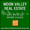 These are the Moon Valley home sales for the year 2014.