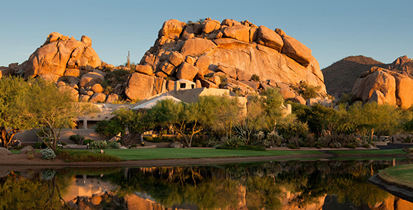 The Boulders Resort homes are located in the Town of Carefree and within the 85377 postal code.