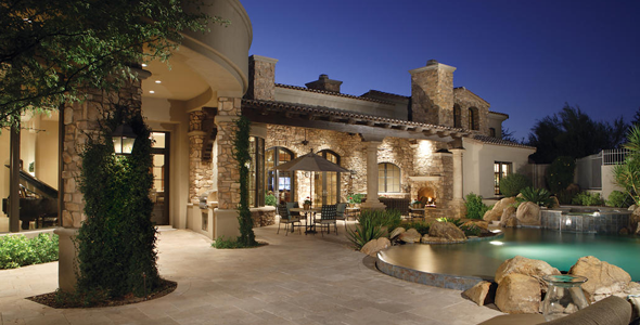 Desert Highlands homes are situated around the world famous Desert Highlands Country Club in the 85255 postal Code of North Scottsdale.