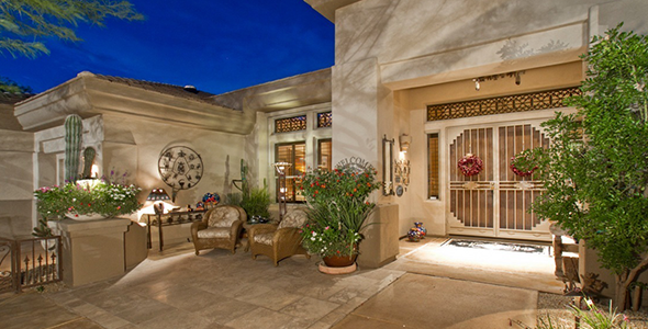 Terravita homes were built by Del Webb and surround Terravita Country Club in North Scottsdale 85266.