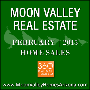 There were 35 February 2015 sold Moon Valley homes.