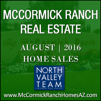 There were 64 August 2016 McCormick Ranch homes sold.