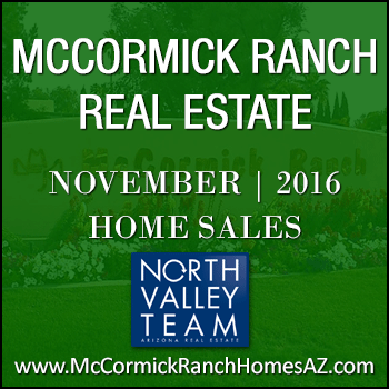 There were 45 November 2016 McCormick Ranch homes sold.