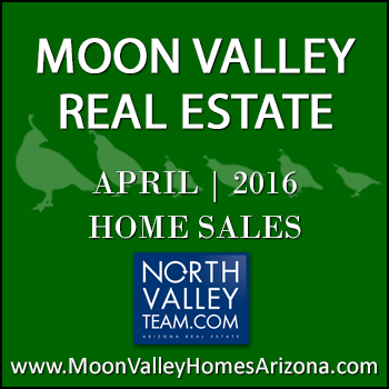 There were 58 April 2016 sold Moon Valley homes which included 10 Moon Valley condominiums and townhomes.
