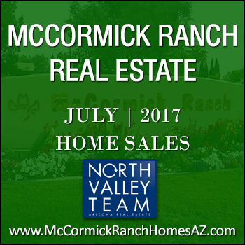 There were 97 July 2017 sold McCormick Ranch homes which included 61 McCormick Ranch patio homes, condos and townhomes.