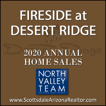 There were 72 2020 sold Fireside Desert Ridge homes which include Fireside at Desert Ridge condominiums and single family detached Fireside at Desert Ridge homes. Average dollar per square foot pricing for 2020 Fireside Desert Ridge homes sold was approximately 10.2% higher than Fireside homes sold in 2019 only 6 fewer homes sold this year than last year, and average days on market decreased by 17 days in 2020, compared to 2019.