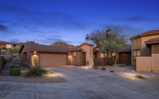 This McDowell Mountain Ranch home for sale is a North Scottsdale gem.